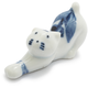 Kotobuki Blue Stretching Cat Chopstick Rest
