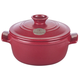Emile Henry® Red Flame Top Round Stewpots