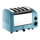 Dualit® Azure-Blue NewGen 4-Slice Toaster