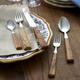 Dubost Olivewood Flatware, 20-Piece Set