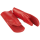 Red Silicone Oven Mitts, Set of 2