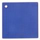 Blue Silicone Grid Potholder