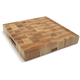 John Boos & Co.® Reversible End-Grain-Maple Chopping Block