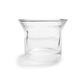 Sur La Table® Glass Candleholder, Clear