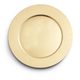 Gold Metallic-Colored Round Charger, 13