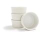 Revol White Porcelain Ramekins