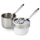 All-Clad® Stainless Double Boiler with Ceramic Insert, 2qt.