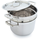 Le Creuset 3-Ply Stainless Steel Stockpot with Pasta Insert, 7½ qt.