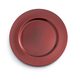 Red Metallic-Colored Round Charger, 13