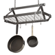 Enclume® Hammered Steel Rectangular Pot Rack