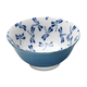 Kotobuki Blue and White Dragonfly Soup Bowl