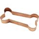Dog Bone Copper Cookie Cutter