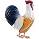 Rooster Napkin Ring
