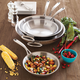 Sur La Table® Tri-Ply Stainless Steel Skillet, 14