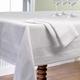 White Egyptian-Cotton Table Linens