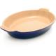 Le Creuset® Indigo Heritage Oval Baker, 3 qt.