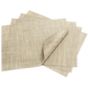 Chilewich Latte Rectangular Basketweave Placemat