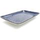 Kotobuki Blue Spirals Sushi Plate, 8