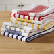 Striped Kitchen Towels, Sets of 3, Assorted Colors