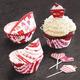 Meri Meri Valentine Cupcake Set