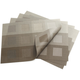 Chilewich Steel Engineered Squares Placemat