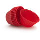 Red Silicone Bake Cups, Set of 12