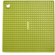 Avocado-Green Silicone Grid Potholder
