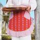 Azalea Ikat Vintage-Inspired Half Apron