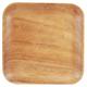 Acacia Wood Salad Plate, 10