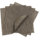Chilewich Chocolate Square Bamboo Placemat
