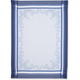 Blue Renaissance Jacquard Kitchen Towel