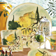 Tuscan Olive Round Serving Platter