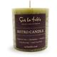 Sur La Table® Green Pillar Candle, 3