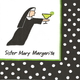 """Sister Mary Margarita"" Paper Cocktail Napkins"