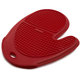Red Silicone Grid Oven Mitt