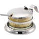 Stainless Steel Cheese Server with Spoon