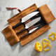 Zwilling J.A. Henckels® Limited-Edition Twin 1731 3-Piece Set & Bonus Leather Roll