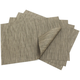 Chilewich Charcoal Rectangular Bamboo Placemat