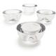 Clear Glass Tealight Candleholder
