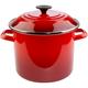 Le Creuset® Cherry Enameled Steel Stockpot, 6 qt.