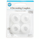Wilton Pastry Bag Couplers, Set of 4