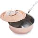 Mauviel® 1830 M?Heritage Copper/Stainless Steel Sauté Pans