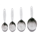 Cuisipro® Stainless Steel Measuring Cups, 4-Piece Set