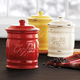 Italian Ceramic Coffee Canisters