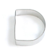 Letter D Cookie Cutter, 3