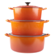 Le Creuset® Flame Round French Ovens