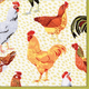Roosters Paper Cocktail Napkins