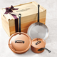 Mauviel® M'Heritage 250 Copper 5-Piece Cookware Set