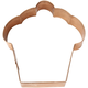 Cupcake Copper Cookie Cutter
