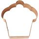 Cupcake Copper Cookie Cutter